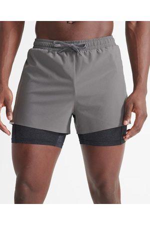 Superdry Men Sports Shorts - Sport Run Trail Shorts