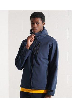 Superdry Men Sports Jackets - Hooded Softshell Jacket