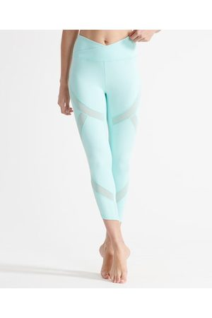 Superdry Women Sports Leggings - Sport Flex Mesh Leggings