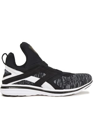 APL® ATHLETIC PROPULSION LABS Women Sneakers - Woman Suede-trimmed Mélange Mesh And Neoprene Sneakers Size 5