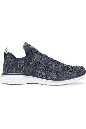 APL® ATHLETIC PROPULSION LABS Women Sneakers - Woman Techloom Pro Metallic Mesh Sneakers Navy Size 10