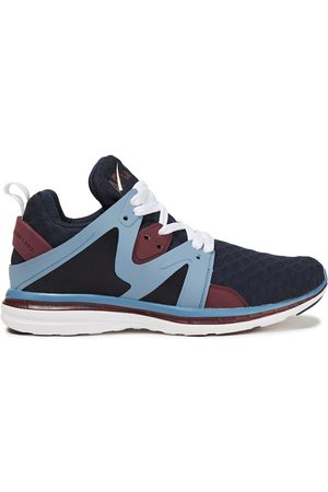 APL® ATHLETIC PROPULSION LABS Women Sneakers - Woman Ascend Mesh And Rubber Sneakers Navy Size 10