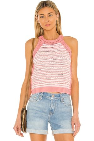 BCBGeneration Cotton Tank in Coral.