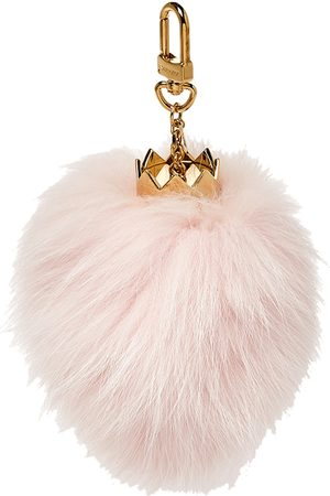 LOUIS VUITTON Women Bags - Powder Fur Fuzzy Bubble Bag Charm