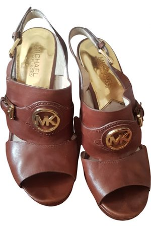 Michael Kors Women Mules - \N Leather Mules & Clogs for Women