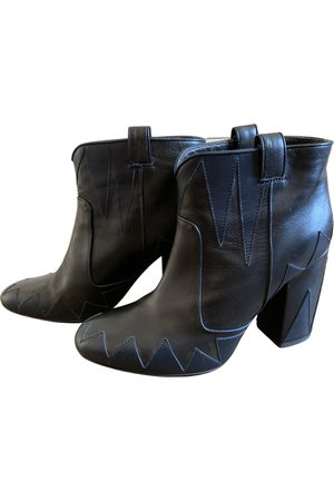 LAURENCE DACADE \N Leather Ankle boots for Women