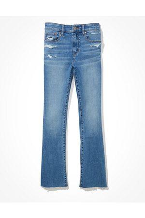 AE High-Waisted Skinny Kick Crop Jean Women's 2 Short