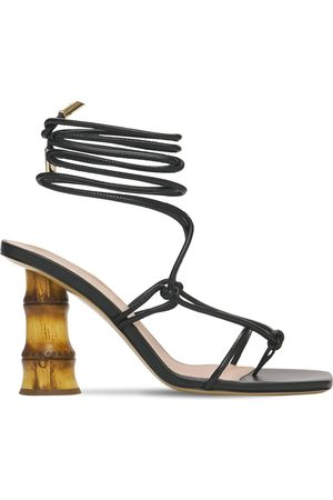 GIA 90mm Eolo Leather Thong Sandals