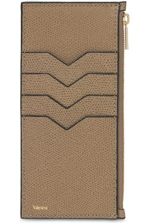 VALEXTRA Grained Leather Card Holder