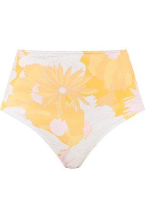 Ephemera Mai Tai High-rise Floral-print Bikini Briefs - Womens - Multi