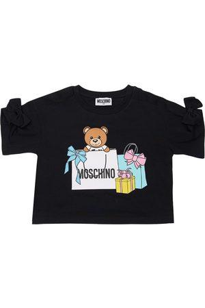 Moschino Toy Print Cotton Jersey T-shirt