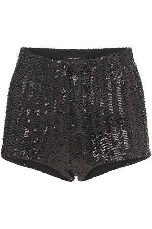 Isabel Marant Ozidi Sequined Shorts