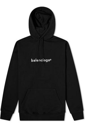 Balenciaga Men Hoodies - New Copyright Logo Popover Hoody