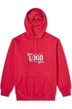 Balenciaga Men Hoodies - Your Logo Here Popover Hoody
