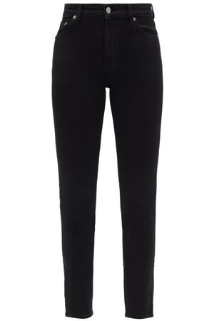 BROCK COLLECTION Women High Waisted - James High-rise Slim-leg Jeans - Womens