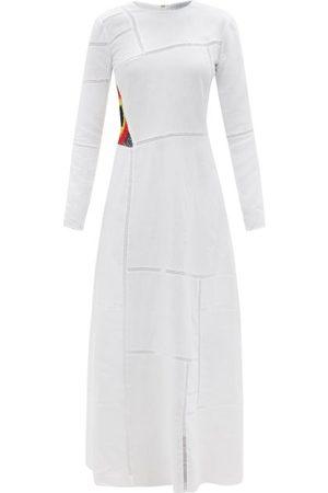 GABRIELA HEARST Jaime Aloe-infused Linen Maxi Dress - Womens