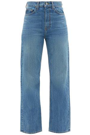 BROCK COLLECTION Women High Waisted - Quark High-rise Straight-leg Jeans - Womens