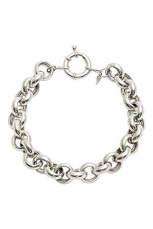 LOREN STEWART Euclid Chain Bracelet in Metallic