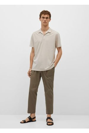 MANGO Bowling-neck polo shirt