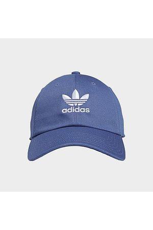 Adidas Originals Precurved Washed Strapback Hat in / 100% Cotton