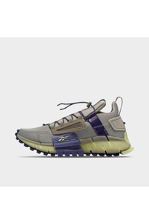 Reebok Men's Zig Kinetica Edge Running Shoes in Grey/Boulder Grey Size 7.0