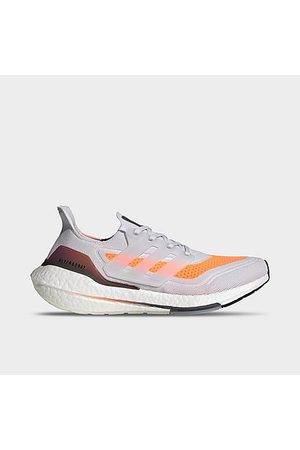 adidas Men's UltraBOOST 21 Running Shoes in Grey/Dash Grey Size 7.0 Knit