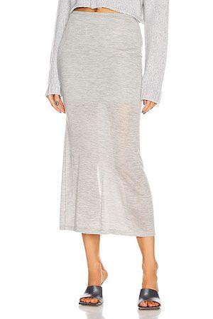 SABLYN Women Midi Skirts - Nina Midi Skirt in Gray