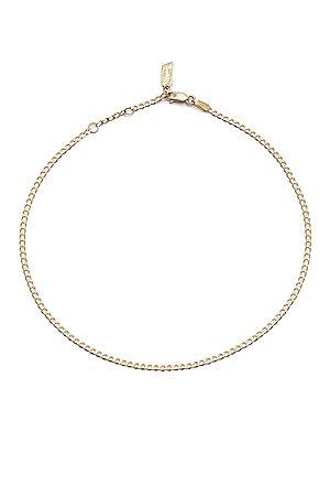 LOREN STEWART Women Necklaces - Dazzle Chain Anklet in Metallic