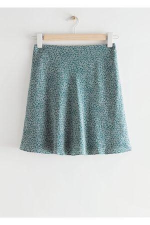 & OTHER STORIES Satin Mini Skirt