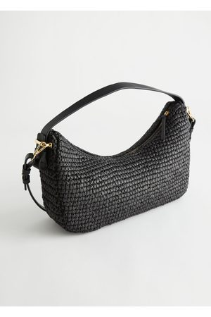 & OTHER STORIES Woven Straw Shoulder Bag