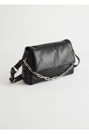 & OTHER STORIES Padded Leather Crossbody Bag