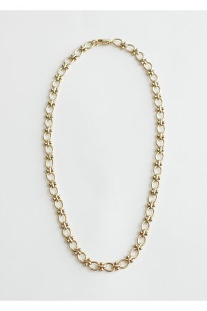 & OTHER STORIES Women Necklaces - Ball Stud Chain Necklace