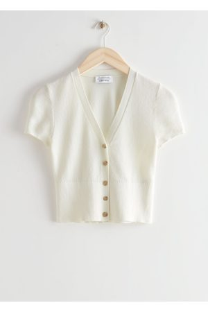 & OTHER STORIES Fitted Short Sleeve Cardigan