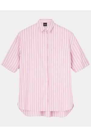 Aspesi Women Shirts - Camicia Mod Striped Shirt