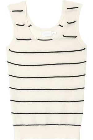 Bamford Striped Knit Regency Vest