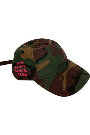 ANTI SOCIAL SOCIAL CLUB Cotton Hats & Pull ON Hats