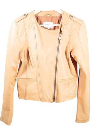Claudie Pierlot Leather Jackets