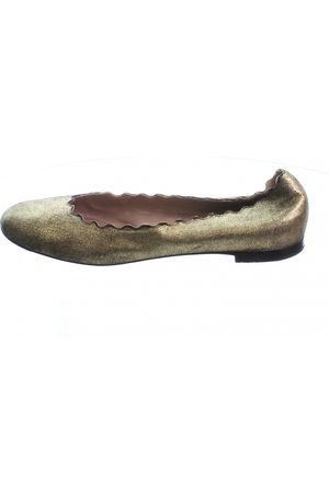Chloé Women Ballerinas - \N Leather Ballet flats for Women
