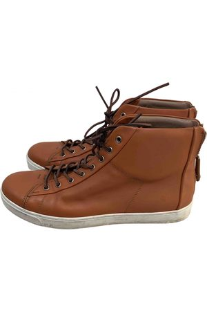 Gianvito Rossi \N Leather Trainers for Men