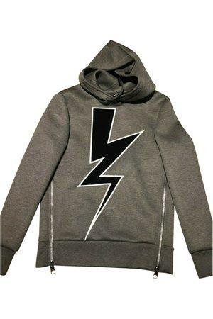 Neil Barrett Grey Viscose Knitwear & Sweatshirts