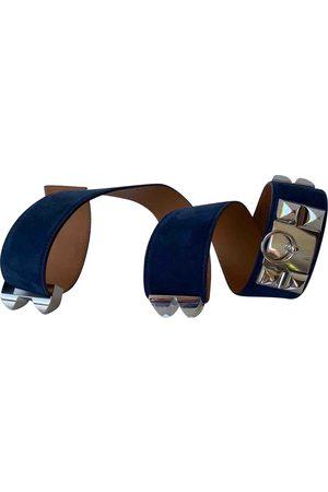 Hermès Suede Belts