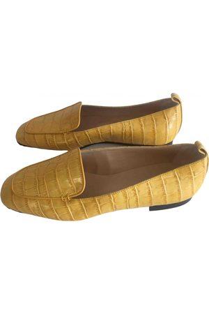 Dear Frances \N Leather Flats for Women