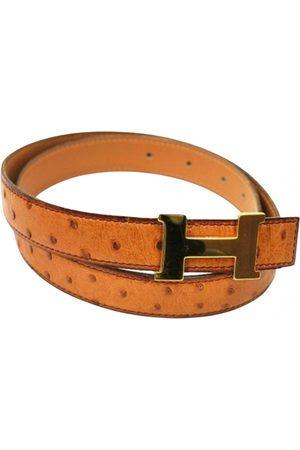 Hermès Men Belts - Ostrich Belts