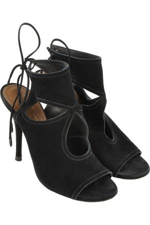 Aquazzura Women Ankle Boots - \N Suede Ankle boots for Women
