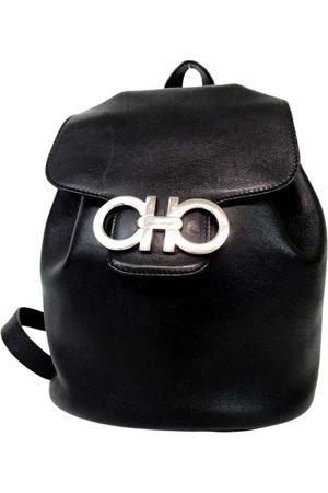 Salvatore Ferragamo Women Rucksacks - VINTAGE \N Leather Backpack for Women
