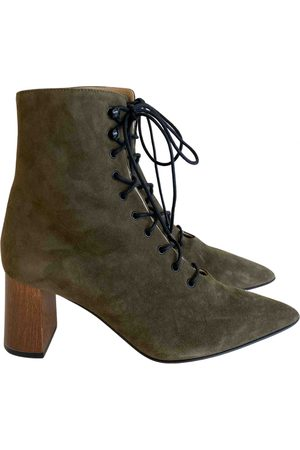 Dear Frances \N Suede Ankle boots for Women