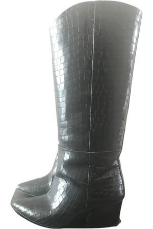 tibi \N Patent leather Boots for Women