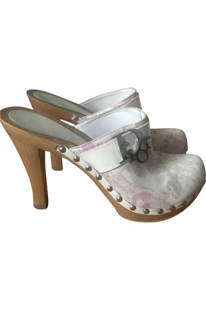 Dior VINTAGE \N Cloth Mules & Clogs for Women