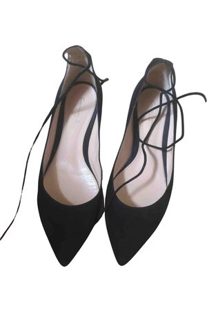Gianvito Rossi \N Suede Ballet flats for Women