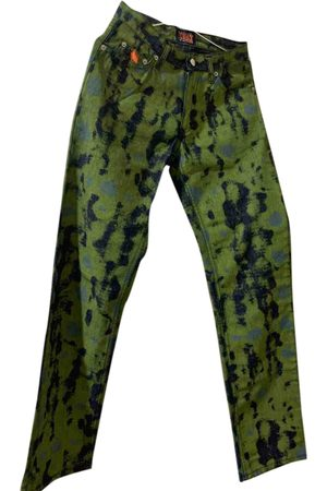 WALTER VAN BEIRENDONCK VINTAGE \N Denim - Jeans Trousers for Women